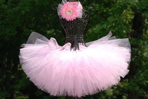 Handmade Tutus - tutus ballerina tutu light pink tutu custom