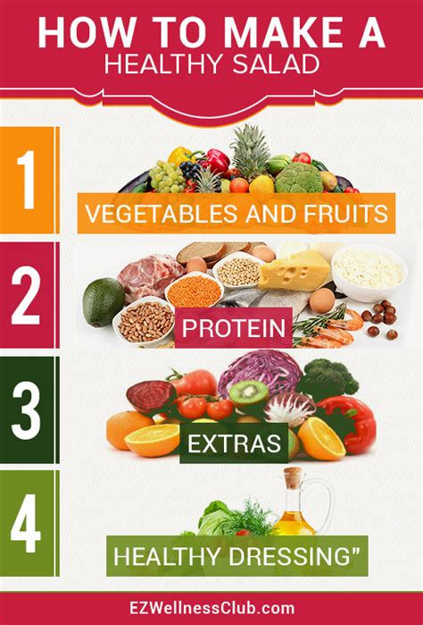 how to make how to make a healthy salad ezwellnessclub
