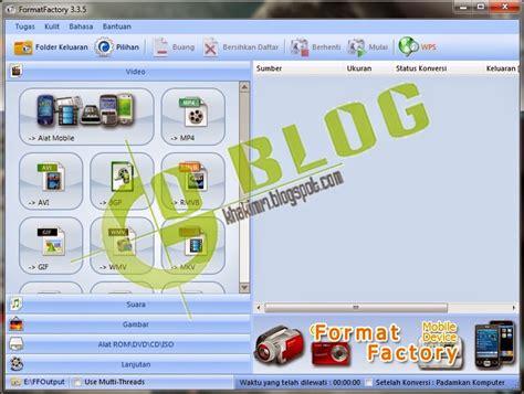 format factory adalah go blog blog untuk mendownload software antivirus tips