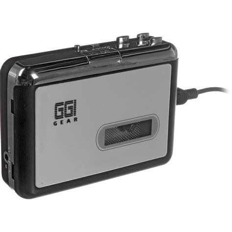 convertire cassette in mp3 ggi usb cassette to mp3 converter ct2dg b h photo