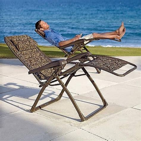 lazy boy outdoor chaise lounge zero gravity reclining patio lounger modern patio outdoor