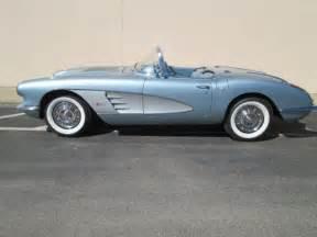 1958 corvette blue 1958 corvette beautiful silver blue 350 ci 4 speed manual