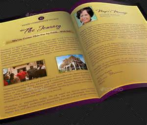 church booklet template church anniversary service program template designingbucket
