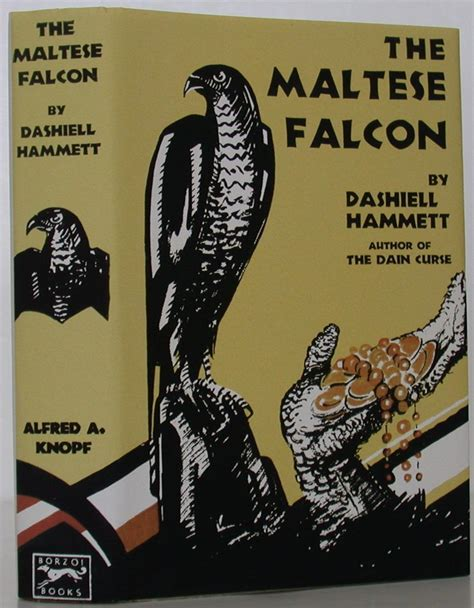 libro the maltese falcon collectors the maltese falcon by hammett dashiell knopf hardcover 1st edition bookbid