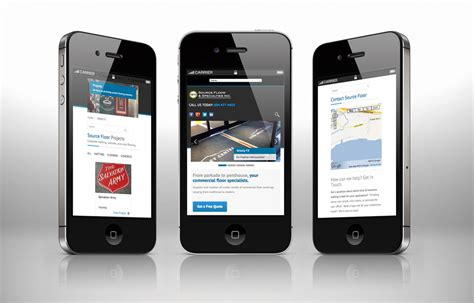 mobile web by solocube creative revs the website of source
