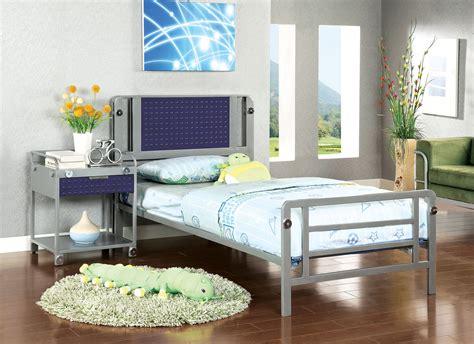 Patio Shop Amarillo by Prado I Blue Silver Bed Las Vegas Furniture Store