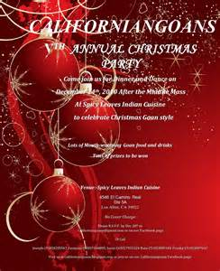 christmas party invitation card design idea with white