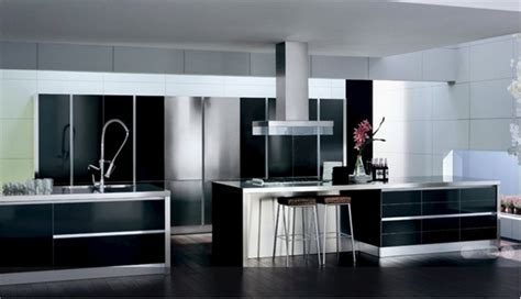 black white silver kitchen ideas cocinas en colores neutros
