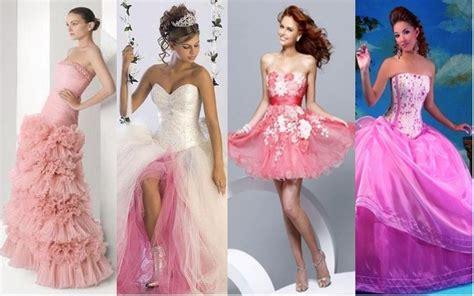 imagenes de vestidos rosas vestidos de novia de invierno rosa clar fotos car