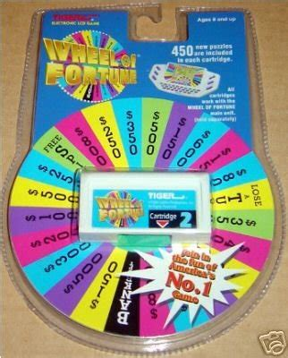 Wheel Of Fortune In The Kitchen Answers by Tiger Wheel Of Fortune Cartridge 2 Shopswell