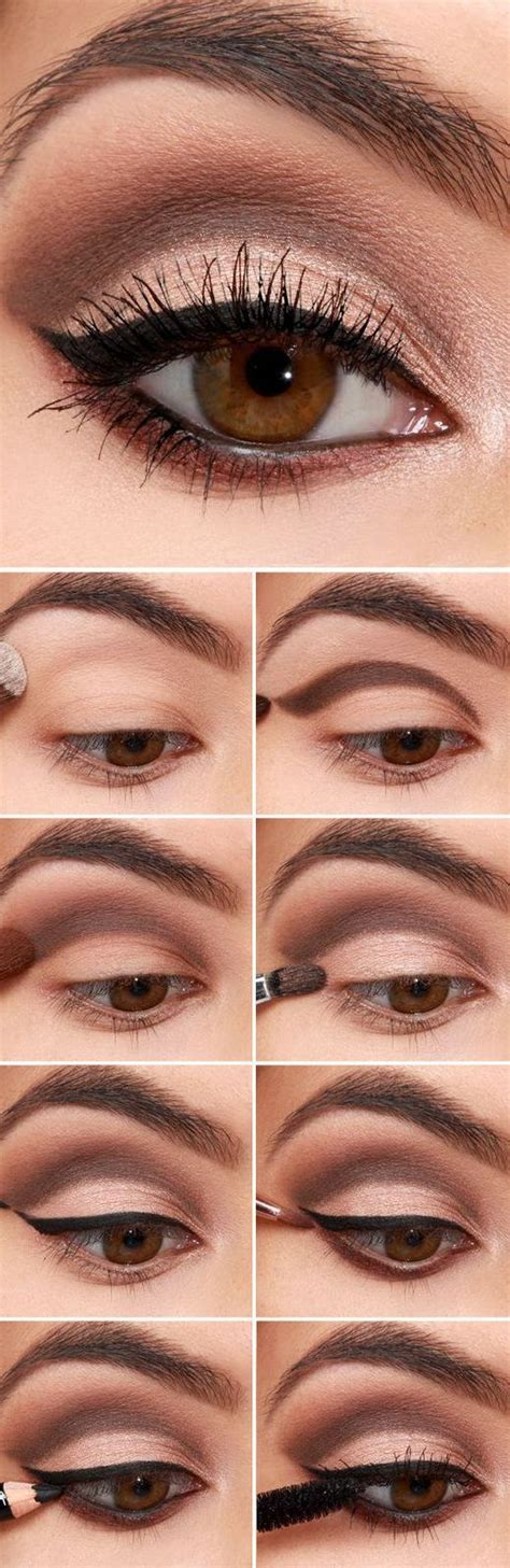 Tutorial Professional Makeup Techniques 4 by 16 Easy Step By Step Eyeshadow Tutorials For Beginners