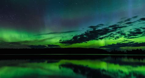 can you see the northern lights in maine stunning time lapse of the northern lights in maine video