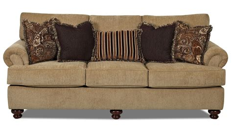 bun feet for sofa traditional stationary sofa with rolled arms and bun feet
