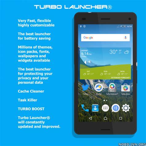 turbo launcher 174 2018 premium turbo launcher 2018 v0 0 71 premium android apk moddded free