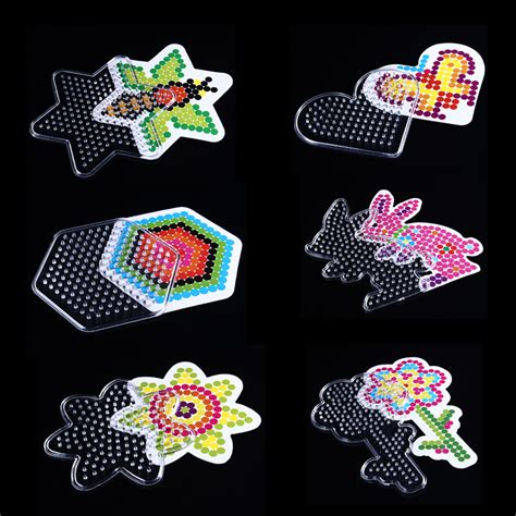 Plastic Diy Pegboards For Hama Great Craft - popular paper bead patterns buy cheap paper bead patterns