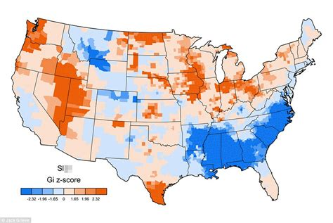 u of a cus map grieve s maps show which us regions use specific swear words daily mail