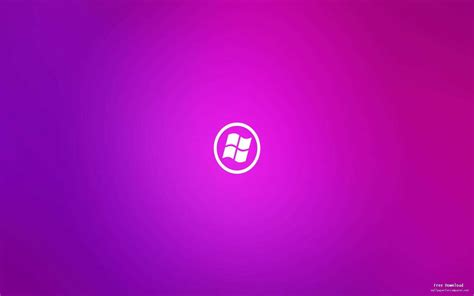 girly wallpapers for windows 10 girly purple windows logo background view