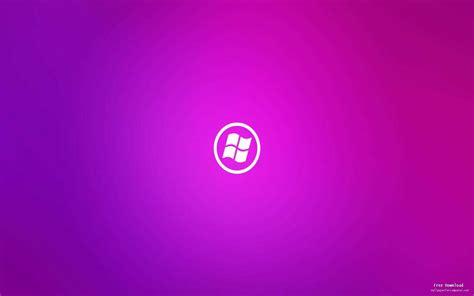 girly purple windows logo background view