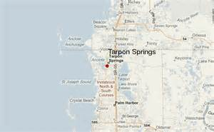 where is tarpon springs florida map tarpon springs location guide