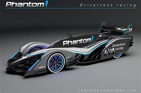vision   future  driverless race car pitpasscom