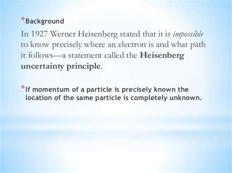 The Heisenberg Principle heisenberg uncertainty principle