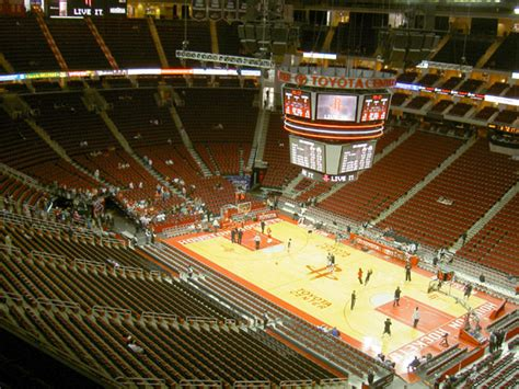 Toyota Center Website Fotos Toyota Center Stadionwelt
