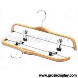 Hanger Jepit Celana 25cm hanger gantungan 4 grosir display