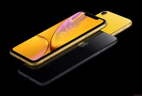 iphone xr yellow wallpapers freshwallpapers
