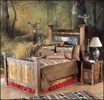 Rustic cabin bedroom decorating ideas great ideas for the house