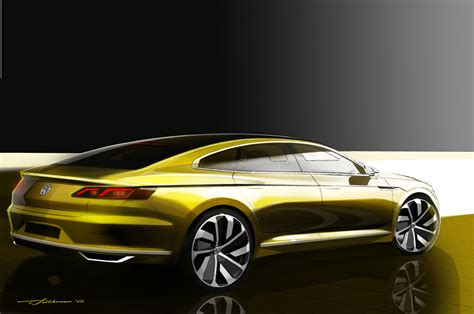 volkswagen geneva volkswagen geneva 2015 car concept rear three quarter