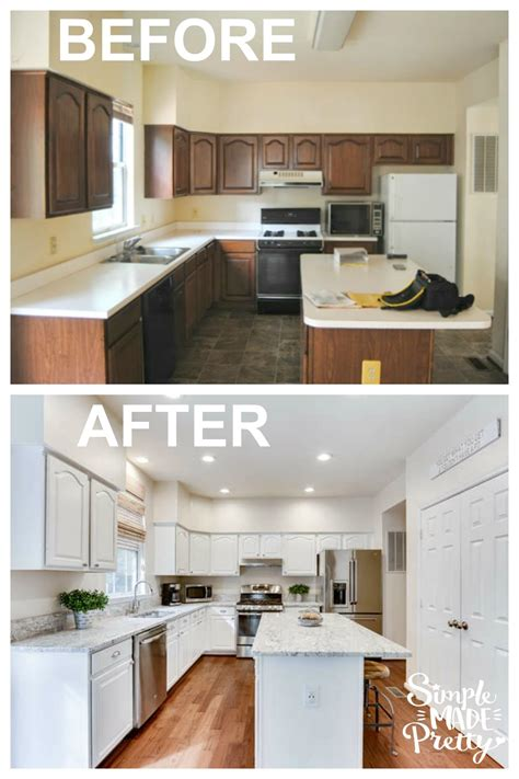 cheap kitchen remodel ideas before and after 2018 kitchen before after logo simple made pretty