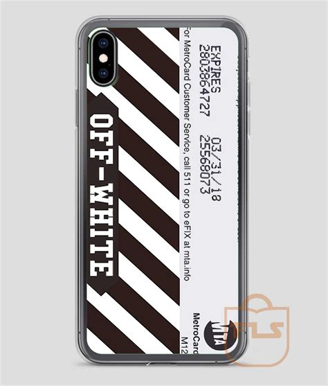 white metro card iphone case  xs xr xs max feroloscom