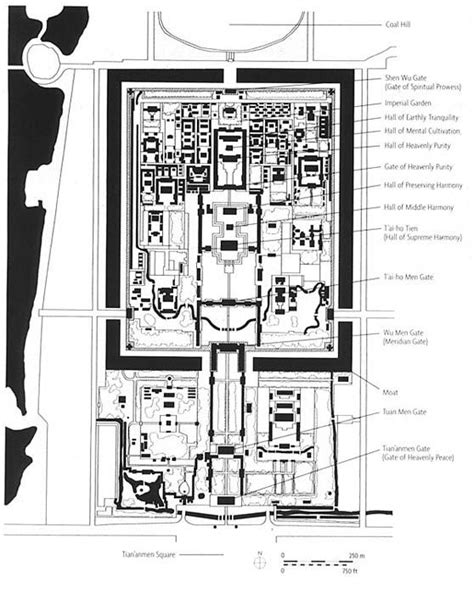 Forbidden City Floor Plan by Traditional Architecture Of China At Of
