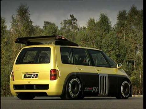 renault espace f1 renault espace f1 youtube