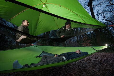 Check Out New Suspended Tents That Let You Sleep Up In The Trees