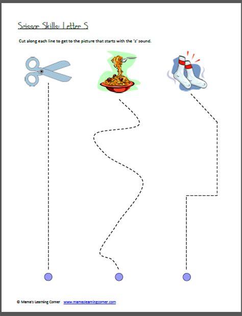 printable practice cutting sheets 7 best images of fall scissor skills printable worksheet