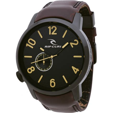 Ripcurl Detroit Black Brown Leather rip curl aa2485 1046 detroit 2