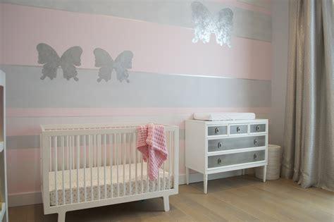 Modern Curtain Ideas by Design Reveal Pink Butterfly Nursery Project Nursery