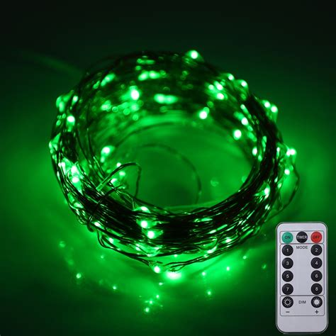 10m 100 Leds Battery Operated Decorative String Light With Stringing Lights