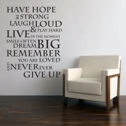 Motivational Wall Stickers Inspirational Quotes Wall Stickers Quotesgram