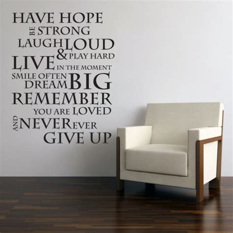 motivational quotes wall stickers inspirational quotes wall stickers quotesgram