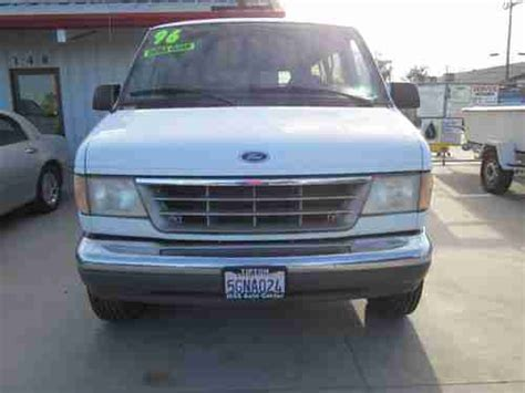 auto air conditioning repair 1996 ford econoline e250 head up display buy used 1996 ford e 350 econoline club wagon xlt hd extended passenger van 2 door 5 8l in