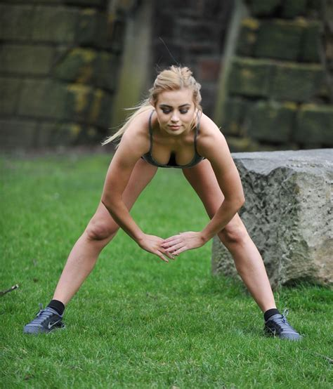 Bbq Islands by Melissa Reeves Training In Short Shorts Amp Crop Top