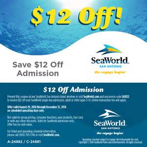 World Tickets Promo Heb Ticketsto Seaworld San Antonio Html Autos Weblog