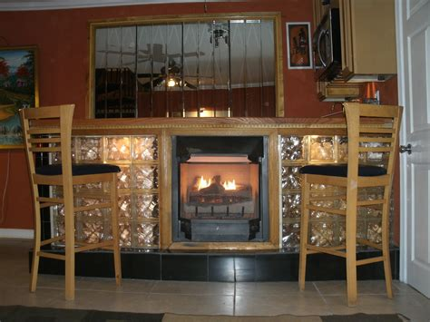 Glass Block Fireplace by Forklift Fan S Design Business To Merge With