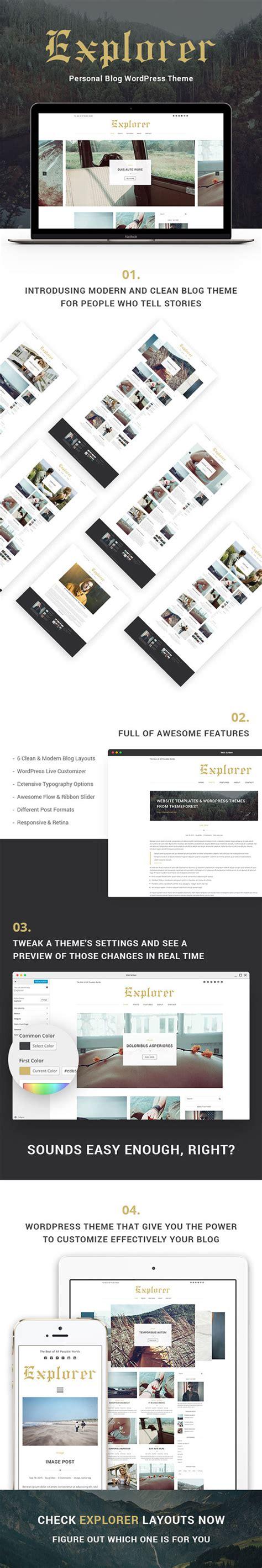 wordpress layout internet explorer explorer personal blog wordpress theme