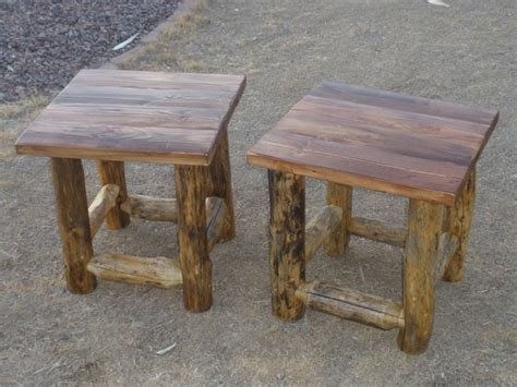 Log End Tables And Coffee Tables Log End Tables And Coffee Tables Crafted Log End Table And Coffee Table By Home Cabinetry