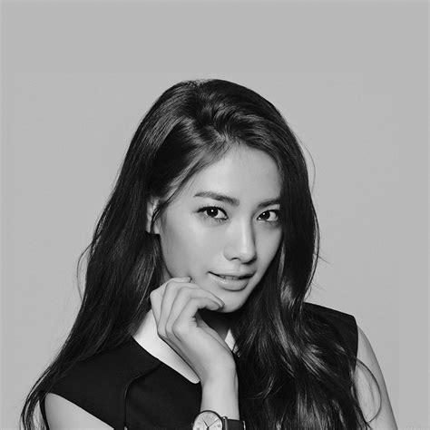 hd nana kpop idol dark bw  sexy girl papersco