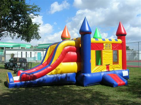 bouncing house pin bounce houses combo units concession equipment water slides on pinterest