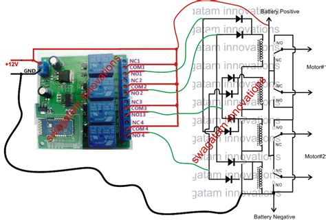 make a remote controlled car circuit